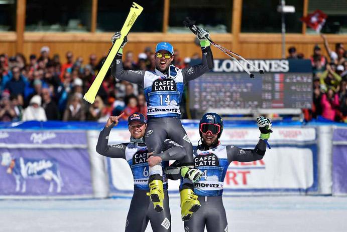 Fanara gana la Copa del Mundo de esquí alpino por dos milésimas de segundo