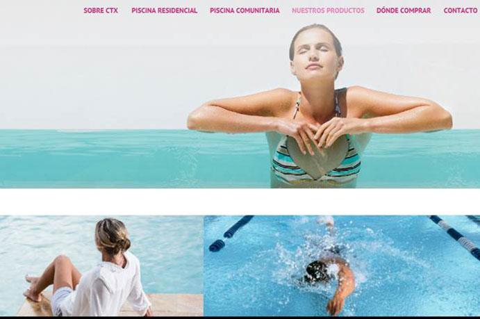 Fluidra lanza una nueva web profesional de piscinas con su marca CTX