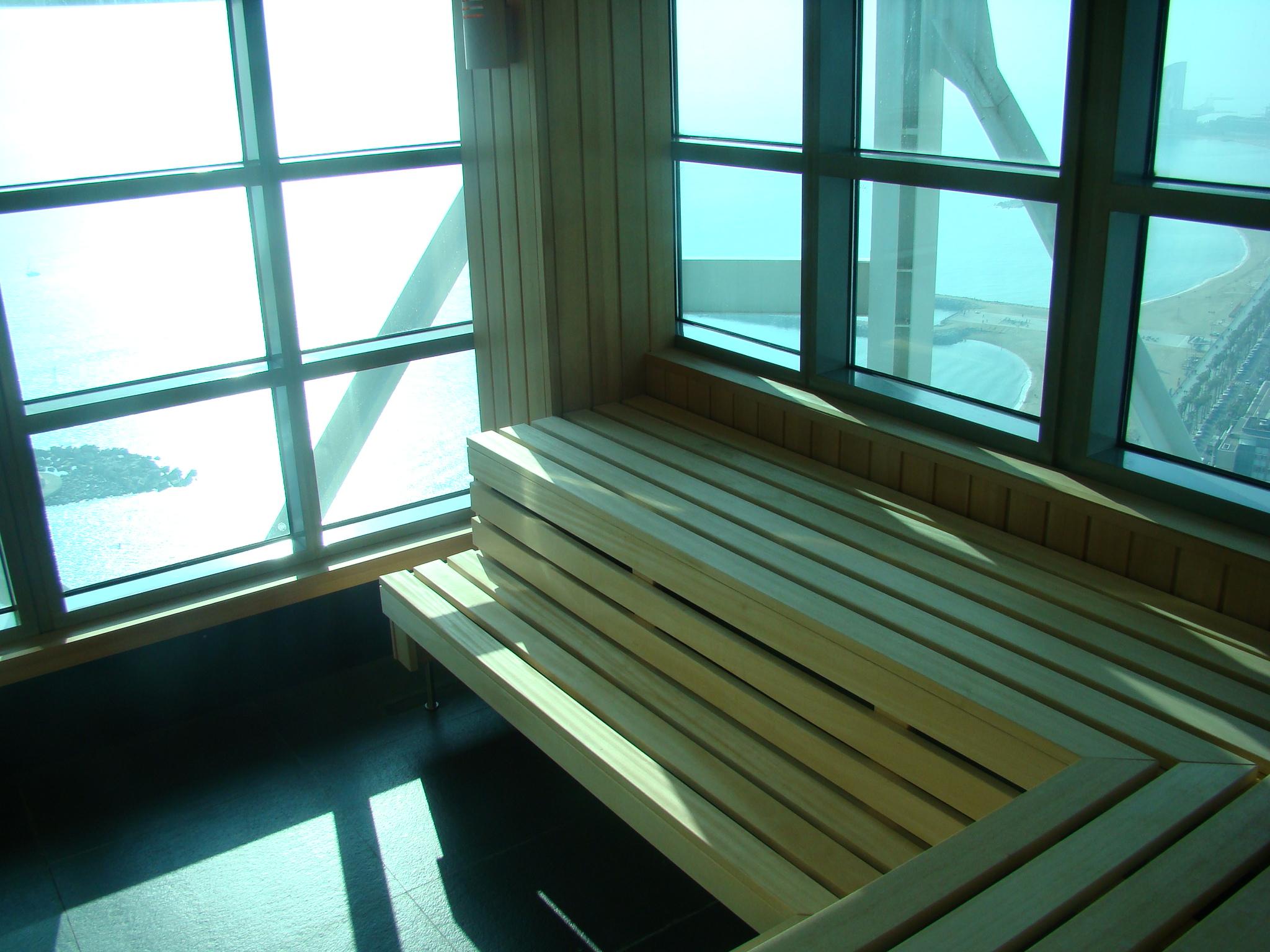 Freixanet renueva las saunas del Hotel Arts de Barcelona