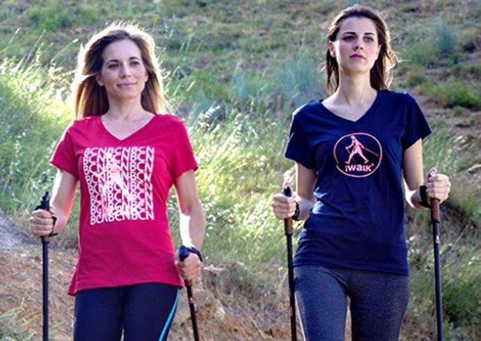 Nace iWalk, la primera marca española de ropa y bastones para marcha nórdica
