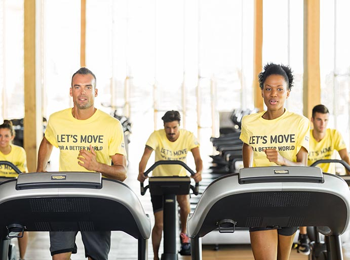 Technogym bate récords con su campaña 'Let's Move for a Better World'