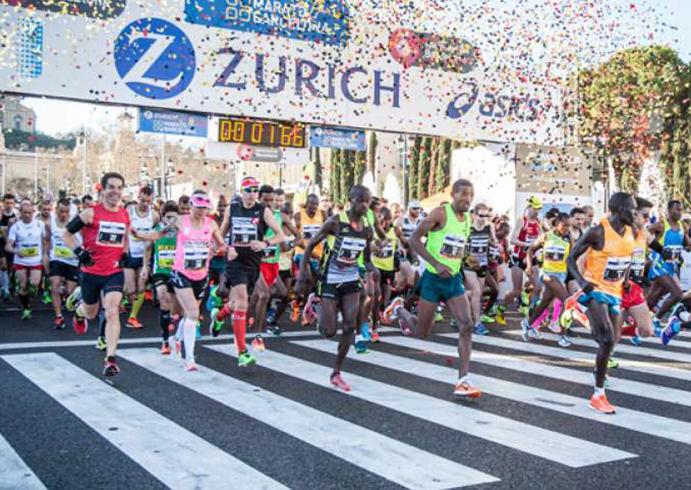 La Marató de Barcelona rebasa por primera vez los 20.000 corredores