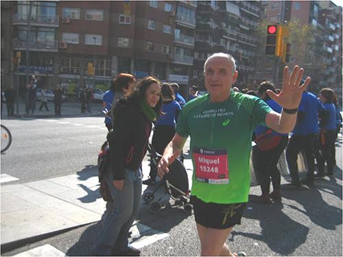 """""""Abandonar en un maratón forma parte del juego"""""""