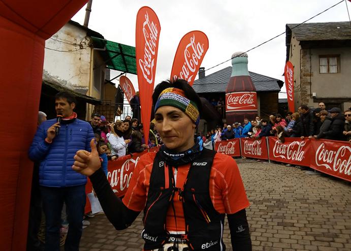 Oihana Kortazar sube al podio en Alto Sil