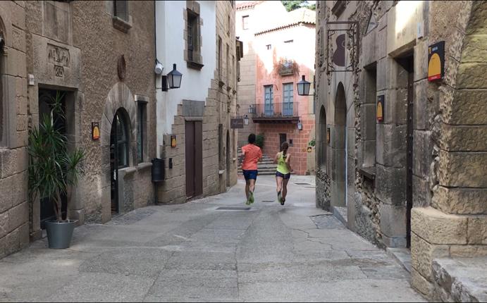 La Salomon Run se adentrará por las calles del Poble Espanyol