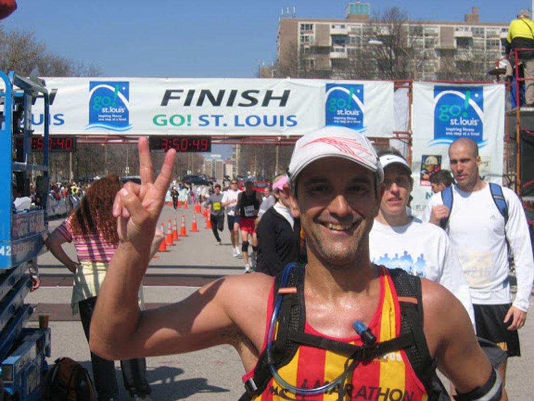 """Arcadi Alibés: """"Si el médico me dijera que debo dejar de correr, cambiaría de médico"""""""