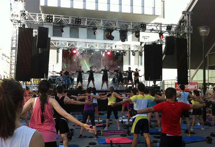 Llega el V Street Fitness de Granada