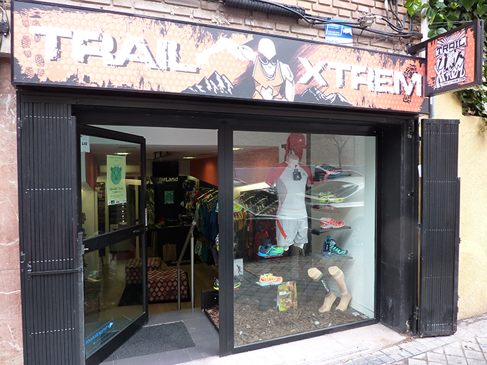Trailxtrem abre su segunda tienda en el antiguo local de Runner Land