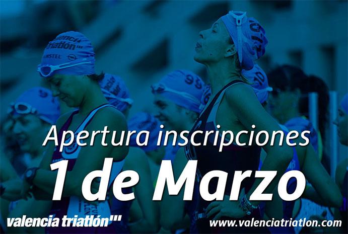 Valencia Triathlon 2016 abre inscripciones con 3.500 plazas disponibles