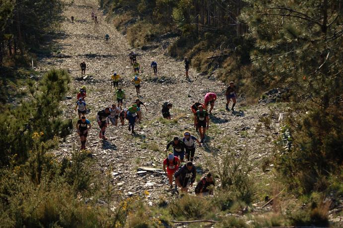 La segunda prueba de la Copa de Carreras por Montaña en Línea, en Viveiro