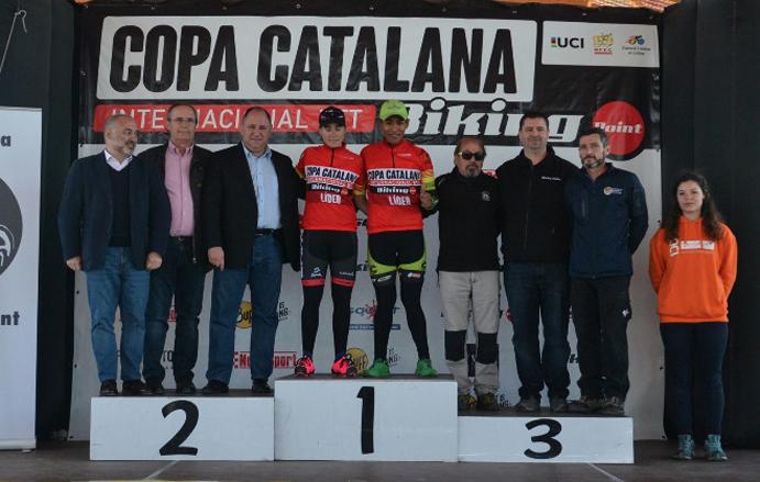 Francesc Guerra y Sandra Santanyes ganan la CCI Biking Point de Corró d'Amunt