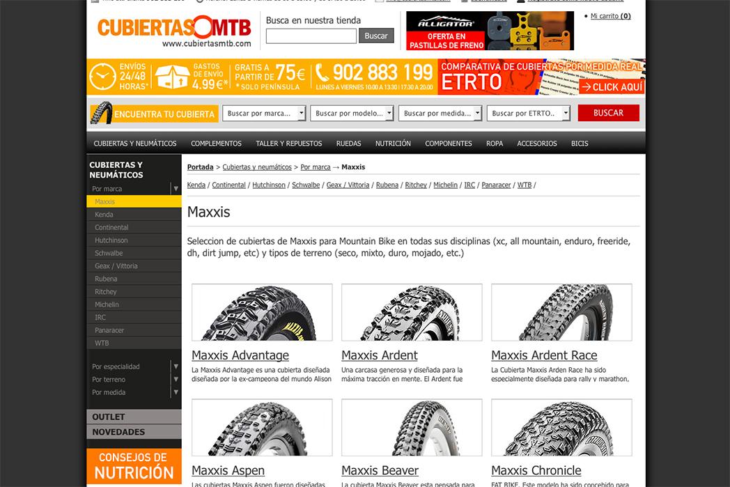 """Cubiertas MTB: """"Hay tiendas físicas que aplican mayores descuentos que Internet"""""""