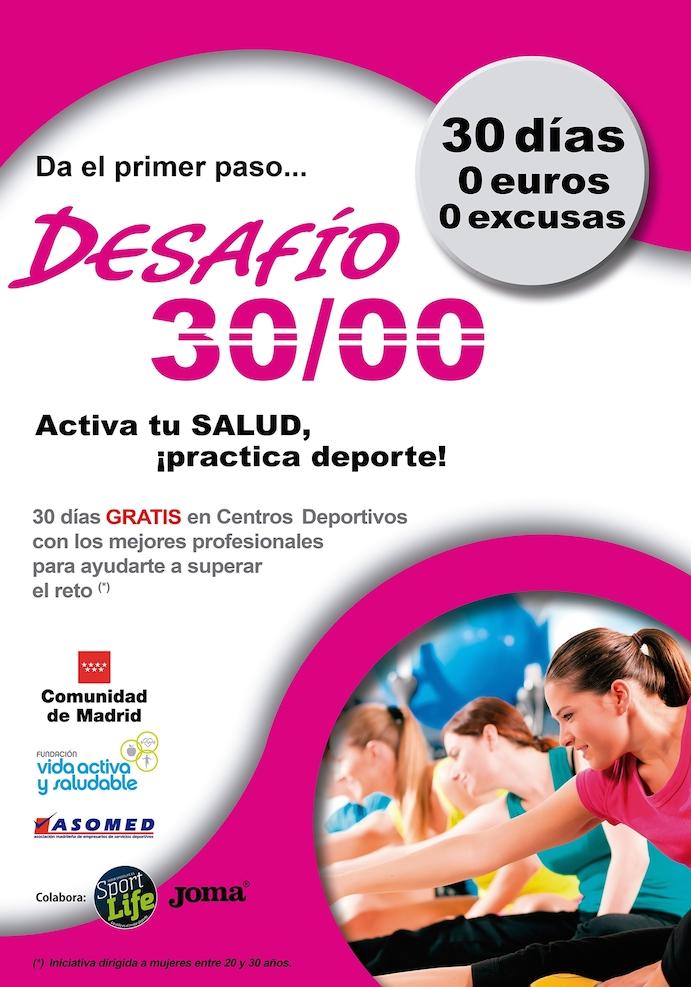 Madrid ofrece 3.000 plazas gratuitas de gimnasio para chicas