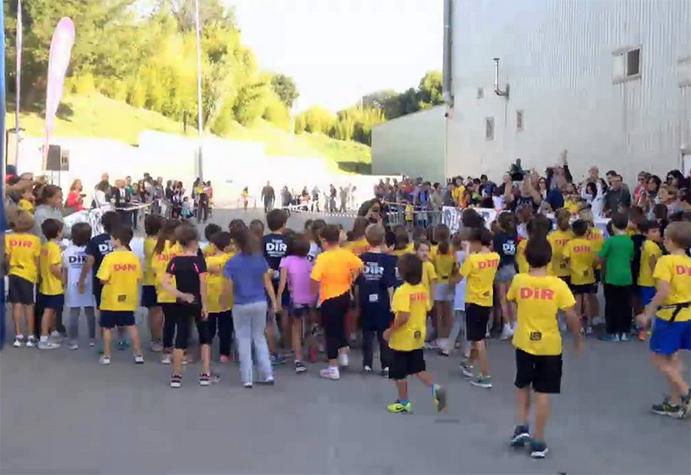 La Cursa DiR Kids Guardia Urbana promueve el running infantil
