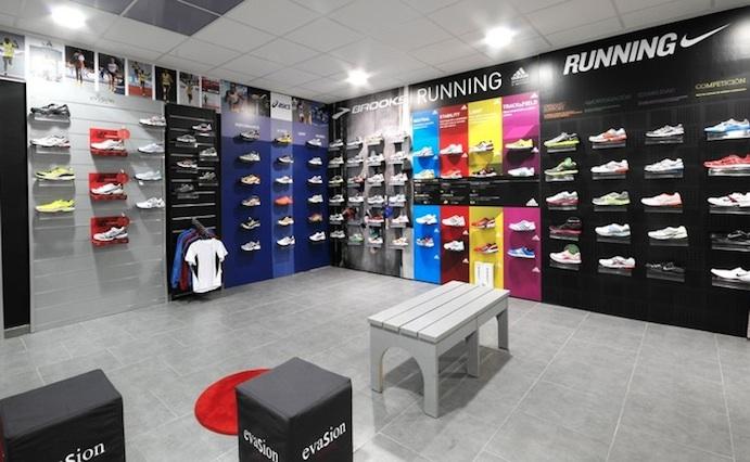 Las tiendas asociadas a Evasion Running, tranquilas ante los cierres de la central