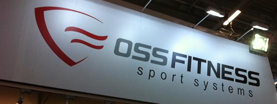 Nuevo Logo de Oss Fitness presentado en el stand de Fibo 2016