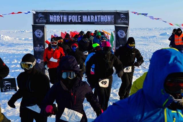 13º North Pole Marathon, el maratón más frío del mundo