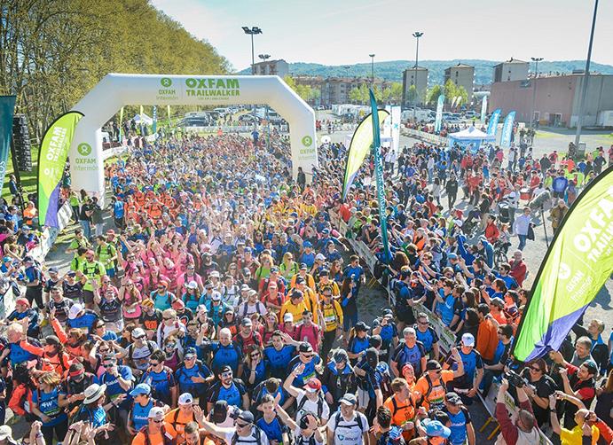 El Trailwalker de Girona recauda casi 900.000 euros