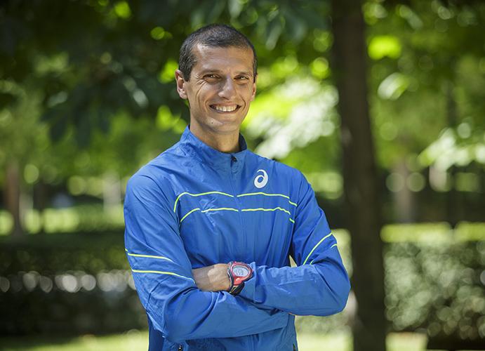 Pablo Villalobos, representante español de los expert runners en Asics Beat the Sun
