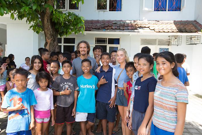 Reef activa un programa de cooperación humanitaria