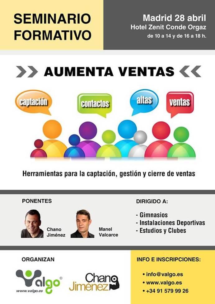 Valgo organiza el Seminario 'Aumenta Ventas' en Madrid