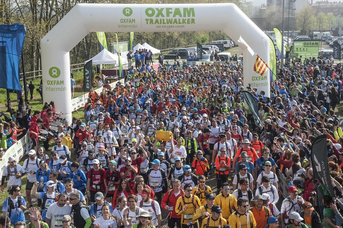 El Trailwalker de Girona registra una participación récord