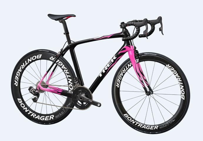 Trek diseña una bicicleta especial de la Polar GF La Mussara