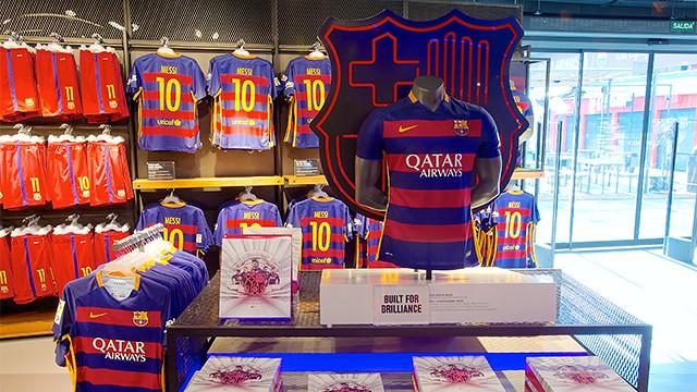 La eliminación del Barça en Champions no afecta a la venta de camisetas