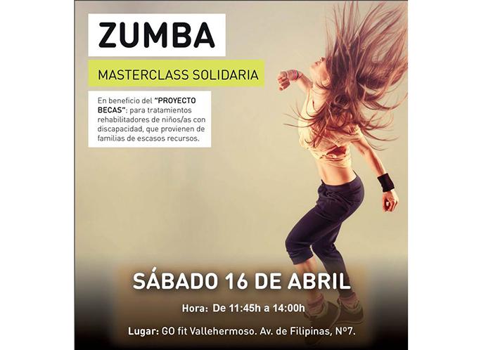 GO fit Vallehermoso organiza una masterclass solidaria de Zumba