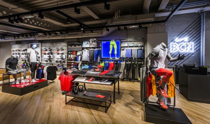 Nike Paseo de Gracia, el espacio más grande dedicado al running en Barcelona