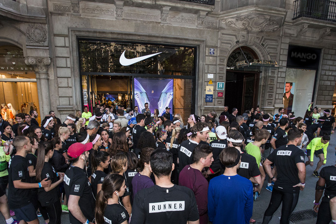 Nike Paseo de Gracia Running Club Barcelona