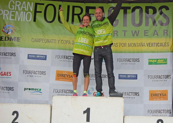 Azara García y Oier Ariznabarreta lideran la Copa de Carreras Verticales