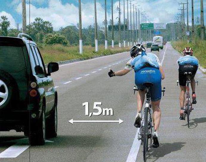 La DGT lanza una campaña de concienciación hacia bicis y motos