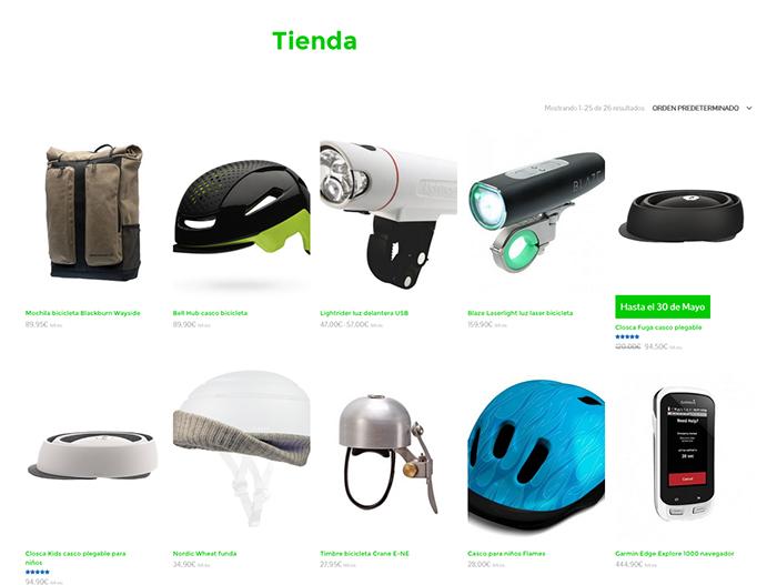 Bikebitants, nuevo e-commerce de gadgets 'futuristas' para el ciclista urbano