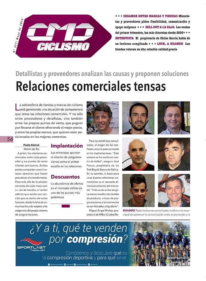 La competencia del mercado ciclista tensa las relaciones comerciales