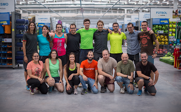 Equipo de Decathlon Querétaro