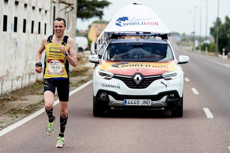 Más de 130.000 personas participan en la Wings For Life World Run 2016