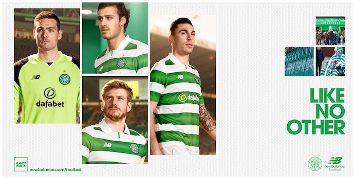 Equipación 2016/17 Celtic FC
