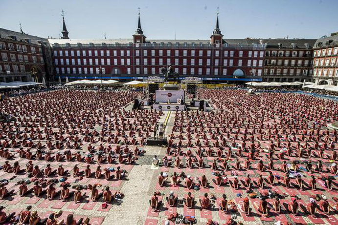 yoga free madrid