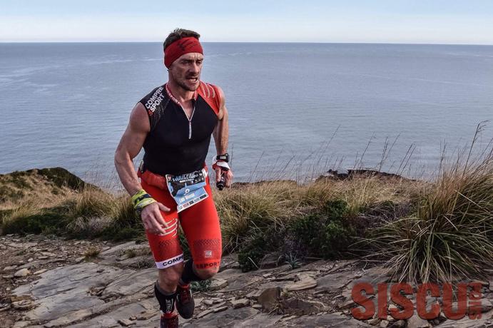 Luis Alonso Marcos empieza en Menorca su reto solidario de 300km