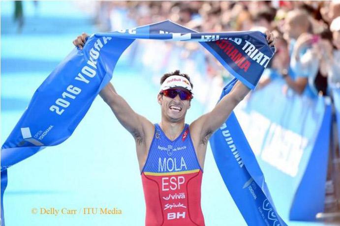 Mario Mola conquista Yokohama