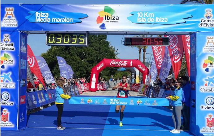 Marca y participación de récord en la Media Maratón de Ibiza