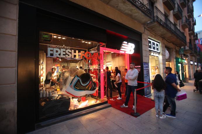 La segunda tienda de New Balance en Barcelona, inaugurada