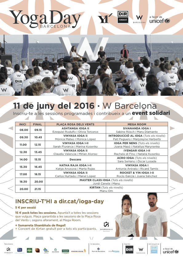 Programa Yoga Day 2016 DiR