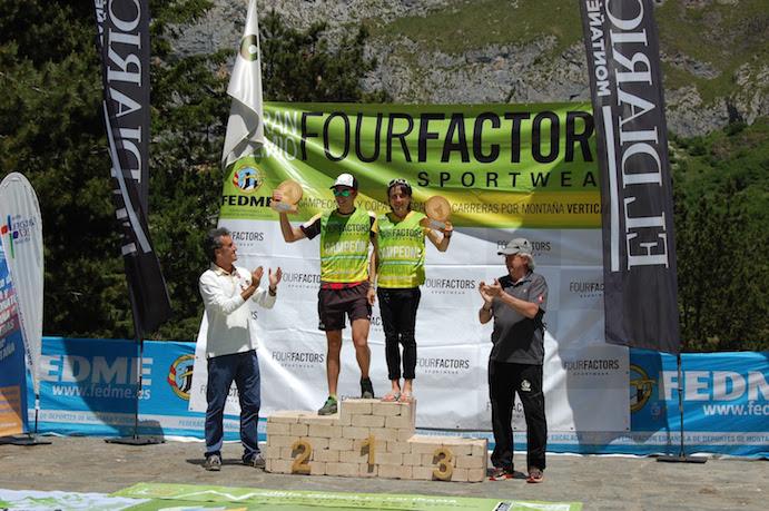 Oriol Cardona y Maite Maiora, campeones de España de Carreras por Montaña Verticales