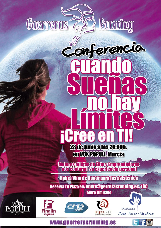 """Guerreras Running organiza las conferencias """"Mujer y deporte, ¡es posible!"""""""