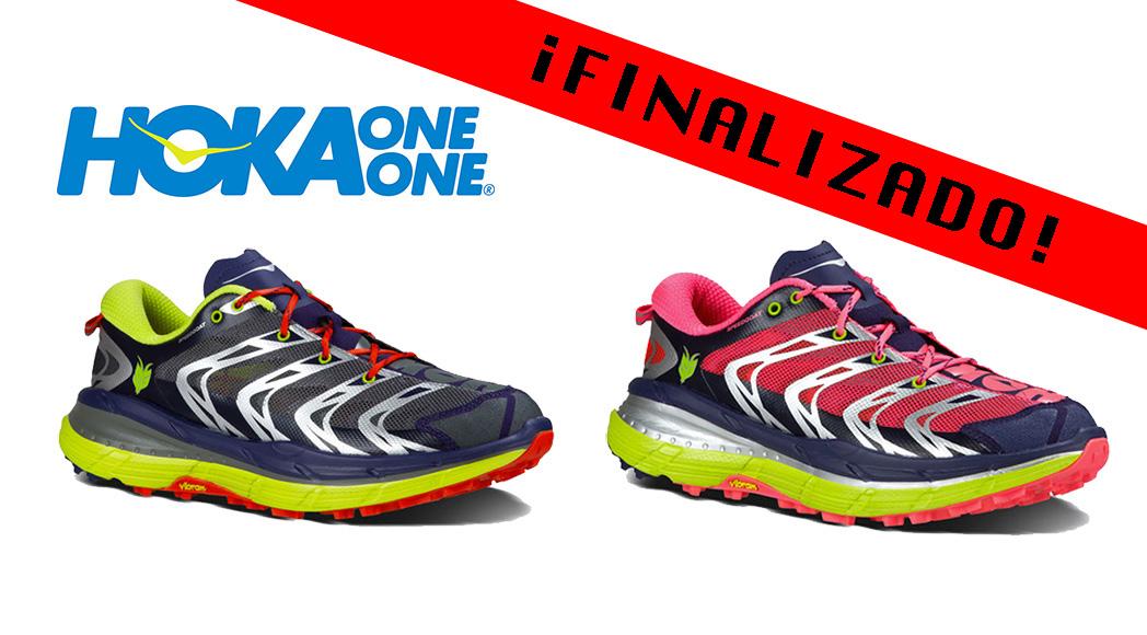 ¡FINALIZADO! SORTEO: Gana unas zapatillas Speedgoat de Hoka One One