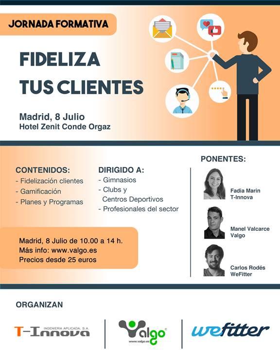 Valgo organiza la Jornada formativa 'Fideliza tus clientes' en Madrid