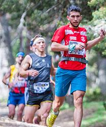Manuel Merillas tuvo que luchar mucho para imponerse en el Maraton Alpino Madrileño