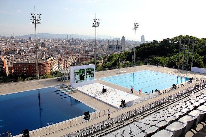Comienza la temporada de verano en las piscinas descubiertas de Barcelona